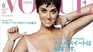 Eldönthetetlen: Katy Perry rövid haja, a tekintete, vagy dekoltázsa dögösebb?