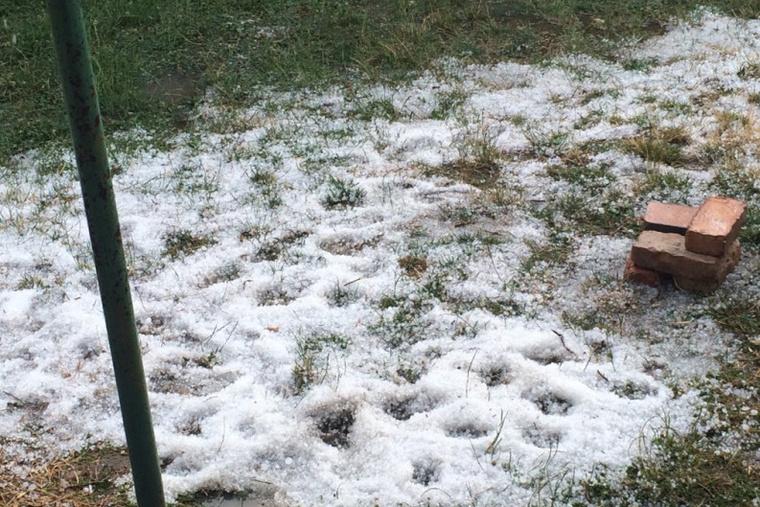 Tardoson jég esett