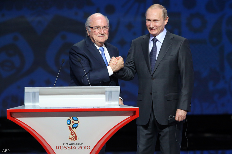 Blatter és Putyin