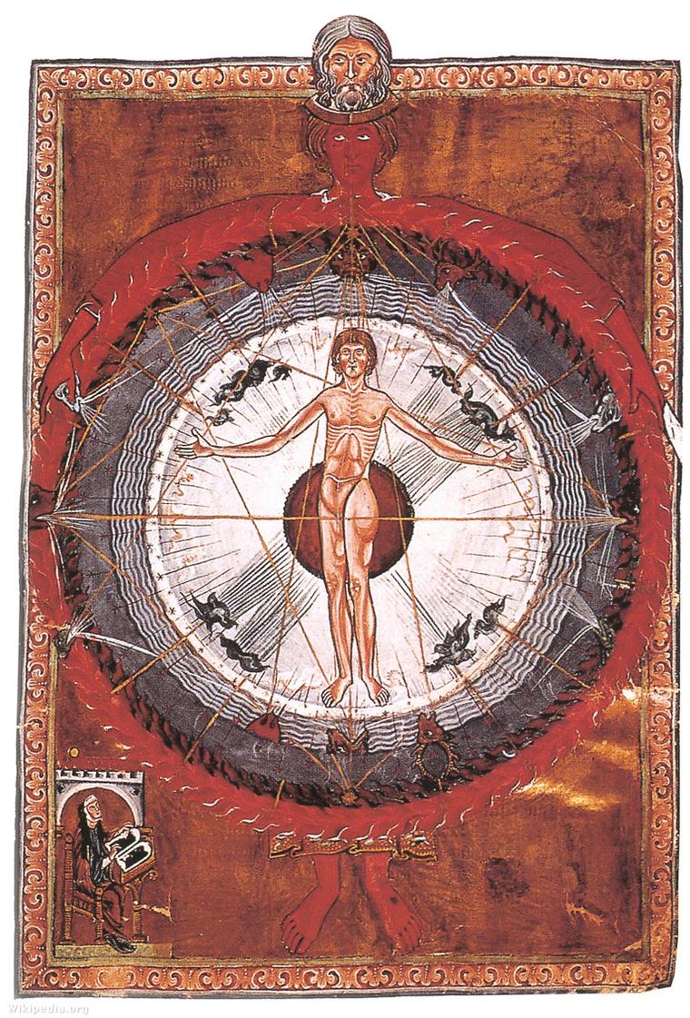 Hildegard von Bingen látomása, Isteni művek könyve (Liber Divinorum Operum)