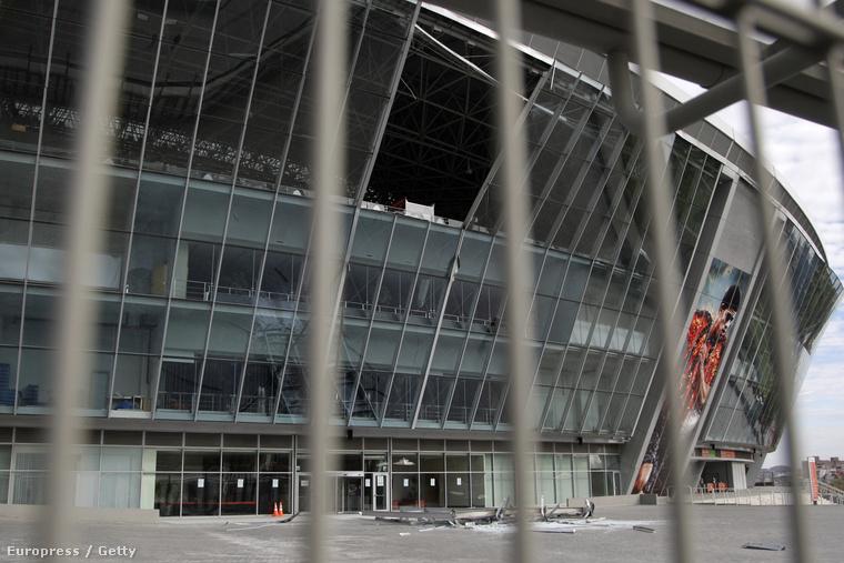 A találatot kapott Donbasz Aréna