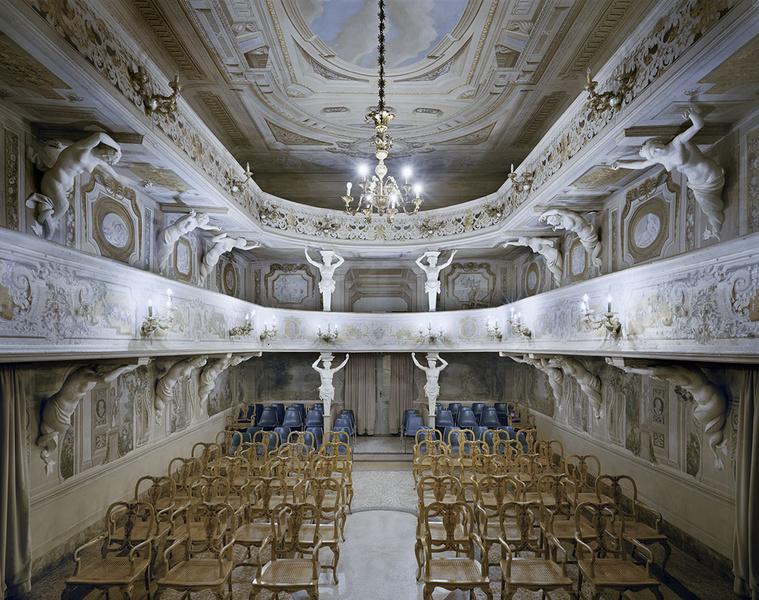 Teatro di Villa Aldrovandi Mazzacorati, Bologna , Olaszország, 2014