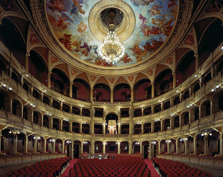 Magyar Állami Operház Budapest, Magyarország, 2008