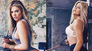 Az egyik Kardashian nem tud másról beszélni, csak a tökéletes testéről
