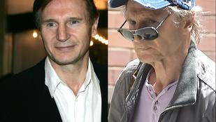 Liam Neeson régen sem volt feltétlenül szép, de mára tényleg leépült