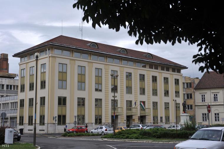 A Savaria Egyetemi Központ egyik épülete Szombathelyen