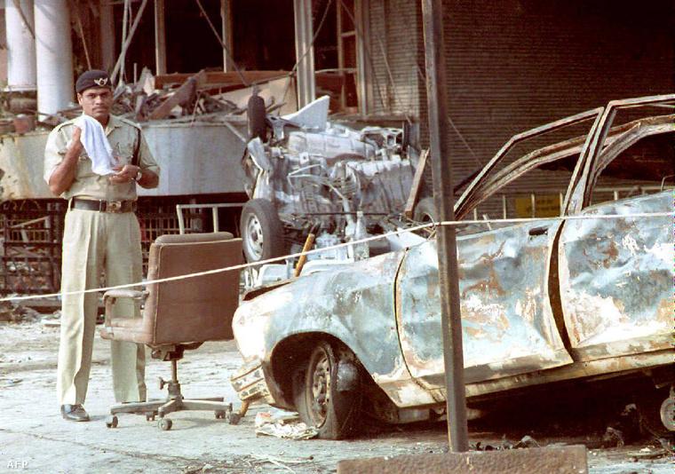 Az 1993-as terrortámadás helyszíne