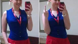 Vett egy nadrágot a munkahelyén, hazaküldte a főnök, hogy ilyet nem viselhet