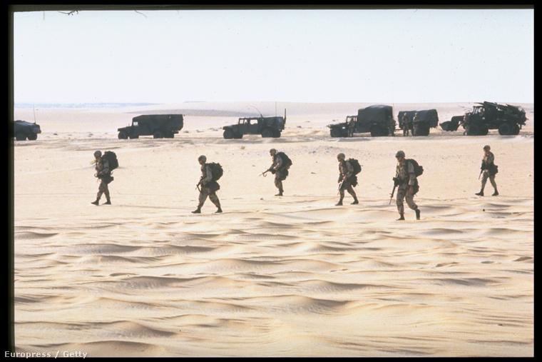 Szövetséges csapatok a sivatagi pajzs hadműveletben