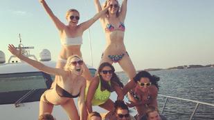 Csak szólunk, hogy Jennifer Lawrence bikinije alig takar valamit