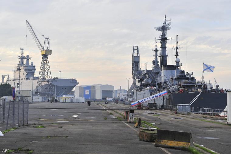 A Vlagyivosztok az első Mistral-osztályú hadihajó, amit a franciák legyártottak Oroszországnak.