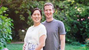 Mark Zuckerbergnek gyereke lesz