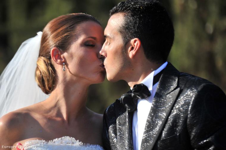Pedro Rodríguez Ledesma, azaz Pedrito és menyasszonya, Carolina Martin