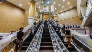 Újabb mozgólépcsős baleset történt Kínában