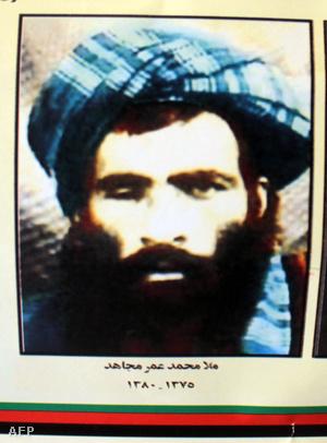 Omar Mollát ábrozoló naptár Kandaharban