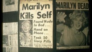 Marilyn Monroe halála 53 év után is rejtélyes