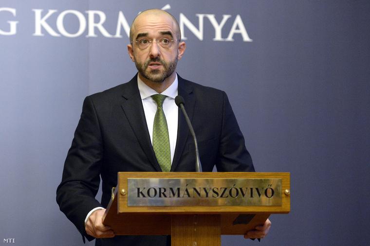 Kovács Zoltán, kormányszóvívő