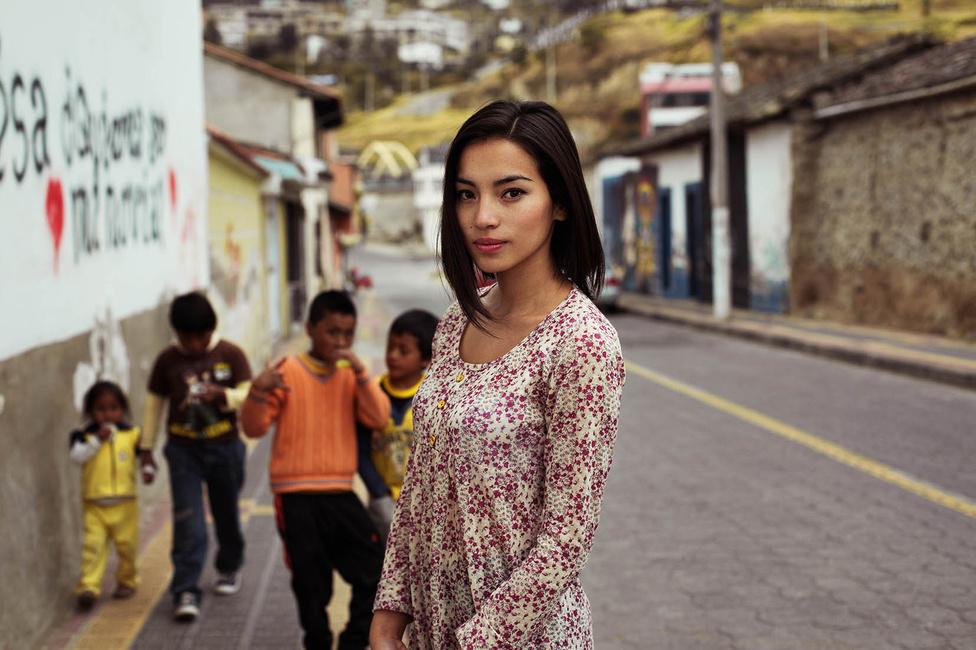 Pénzzel is segíti majd a rászoruló közösségeket, az összedobott összeg 5 százalékát erre szánja, ígérte a fotós, amikor crowdfunding kampányt indított a második nagy utazása finanszírozására. Ez a fotó Ecuadorban készült.