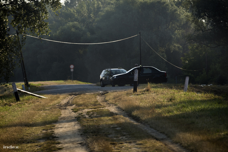 A szerb határnál, pár hónapja még taxis hiénák ügyeskedtek