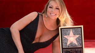 Mariah Carey úgy terült el a földön, mint aki hatalmasat taknyolt