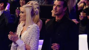 Gwen Stefani férje már egy rejtélyes barna nővel smárolt
