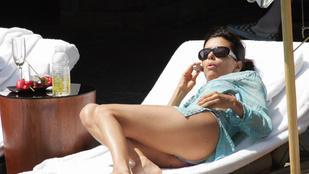 Eva Longoriának törplába van