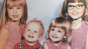 Cindy Crawford már kislányként is gyönyörű volt