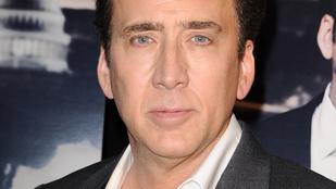 Soha nem találja ki: Ez most az igazi Nicolas Cage, vagy a viaszmása?