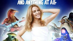 Kylie Minogue az új klipjében sajnos komolyan űrlényekkel táncol