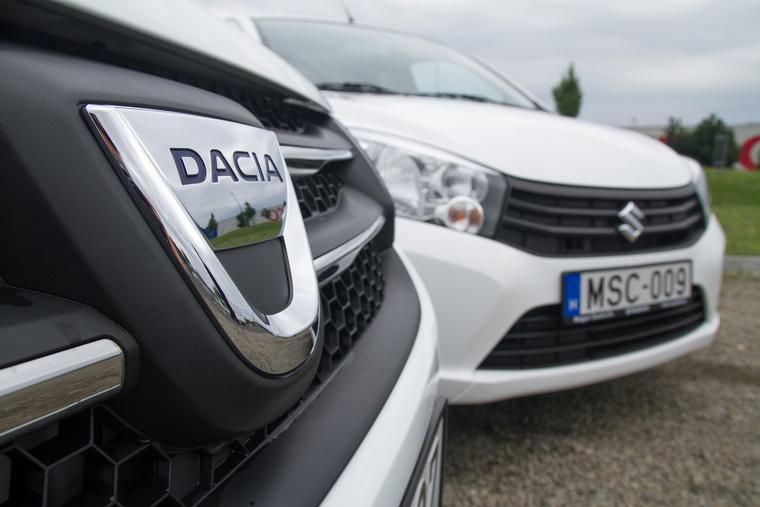 Sokan fogadkoztak, hogy majd megszorongatják a Daciát, egészen váratlanul a Suzukinak sikerül először