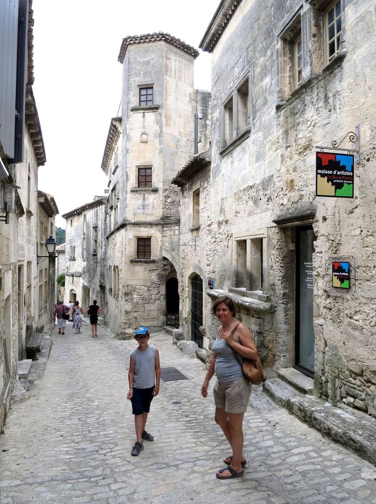 Les Baux egyik jellegzetes utcája, szerintem nem kell sokat hozzáfűzni