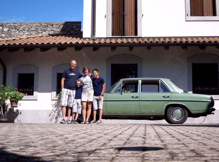 Tavaly már készült itt egy hasonló fotó a Bianchival is