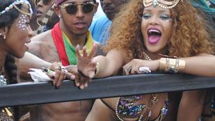 Lewis Hamilton és Rihanna csak jó barátok, tehát járnak