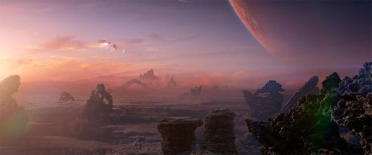 Részlet a 2014-es A galaxis őrzőiből - Király Kristóf is dolgozott a jeleneten