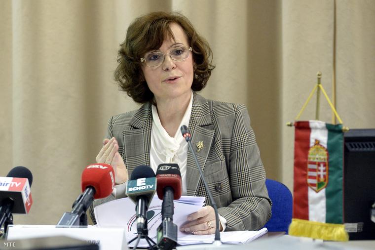 Végh Zsuzsannaa Bevándorlási és Állampolgársági Hivatal főigazgatója