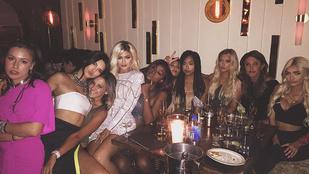 Kylie Jenner 18. szülinapja a szüleit is újra összehozta
