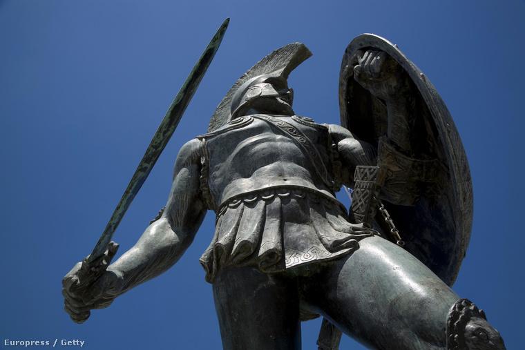 Leonidász emlékműve