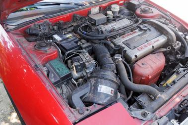 A kétliteres 16 szelepes nem a legvadabb Mitsubishi-motor