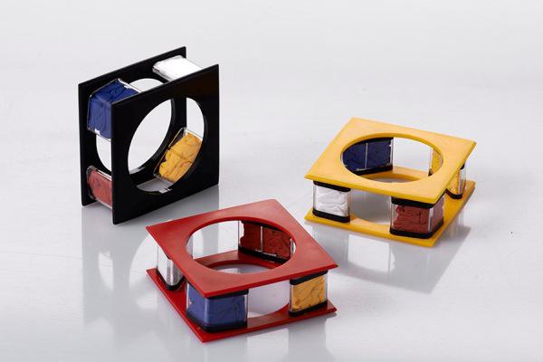 Mondrian karkötők - Art loves Design