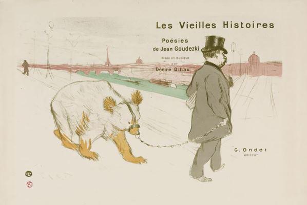 Toulouse-Lautrec - a Régi históriák címlapja, 1893