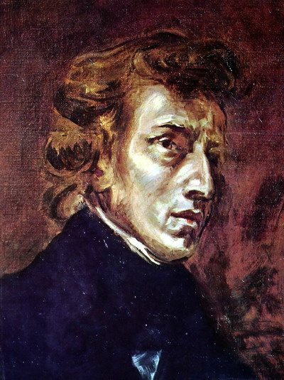 Eugéne Delacroix Fryderyk Chopin