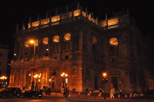 A Magyar Állami Operaház épülete