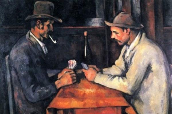 Paul Cézanne: Kártyázók
