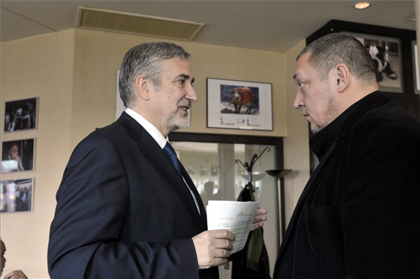 Halász János és Vidnyánszky Attila