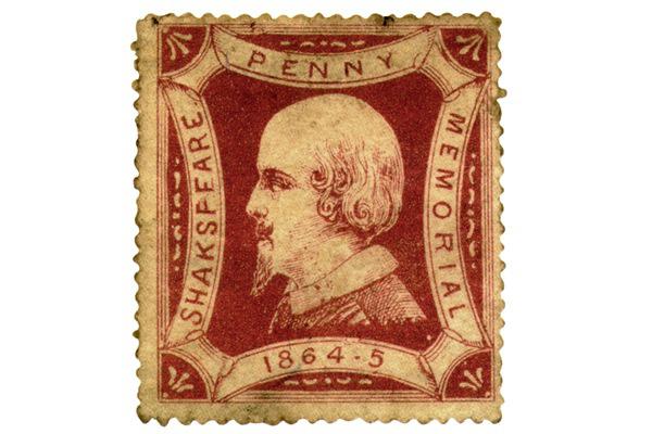 Shakespeare bélyegen - illusztráció
