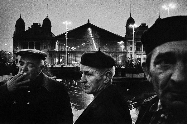 Korniss Péter: Skarbit András vendégmunkás (1982)
