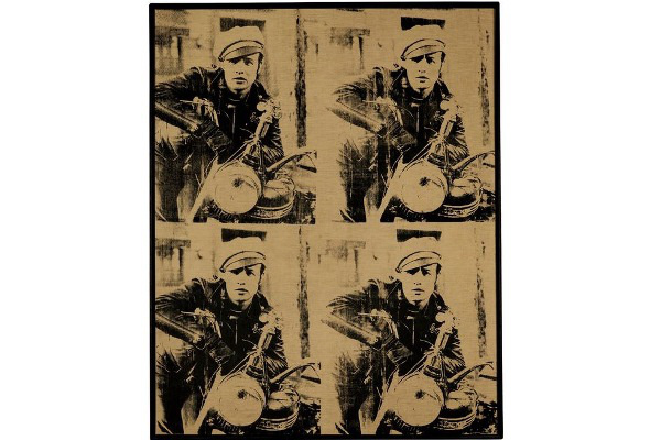 Andy Warhol: Four Marlons