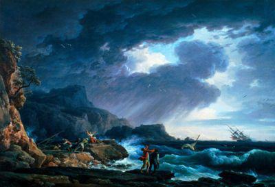 Joseph Vernet: Tengeri vihar