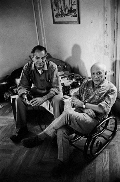 David Douglas Duncan és Pablo Picasso