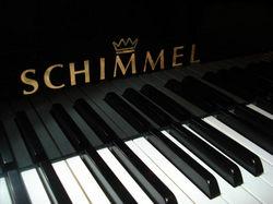 Schimmal zongora logó